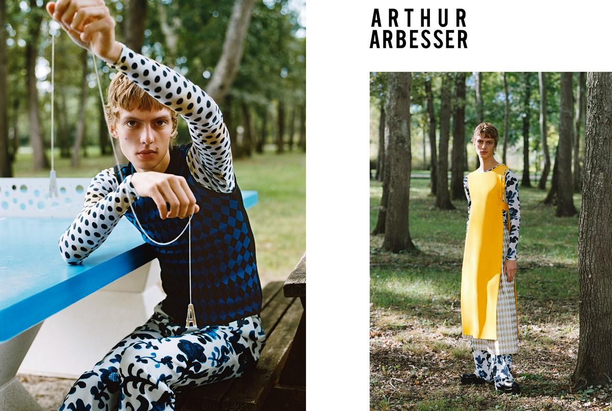 Arthur Arbesser campagna primavera estate 2020