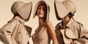 Burberry campagna primavera estate 2020: Bella Hadid, Gigi Hadid e Kendall