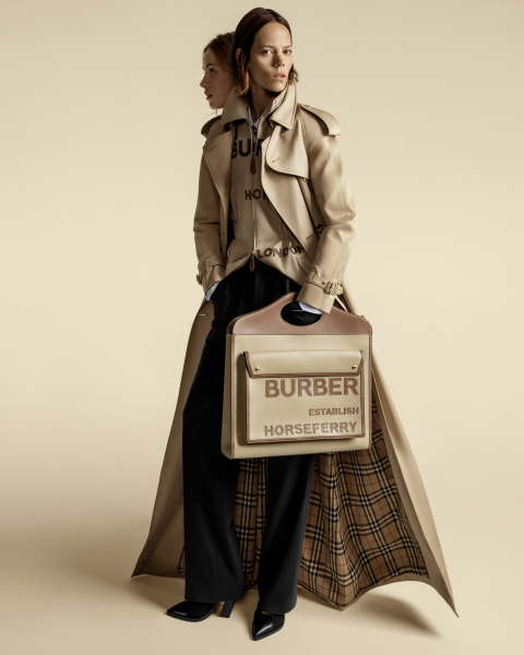 Burberry campagna primavera estate 2020