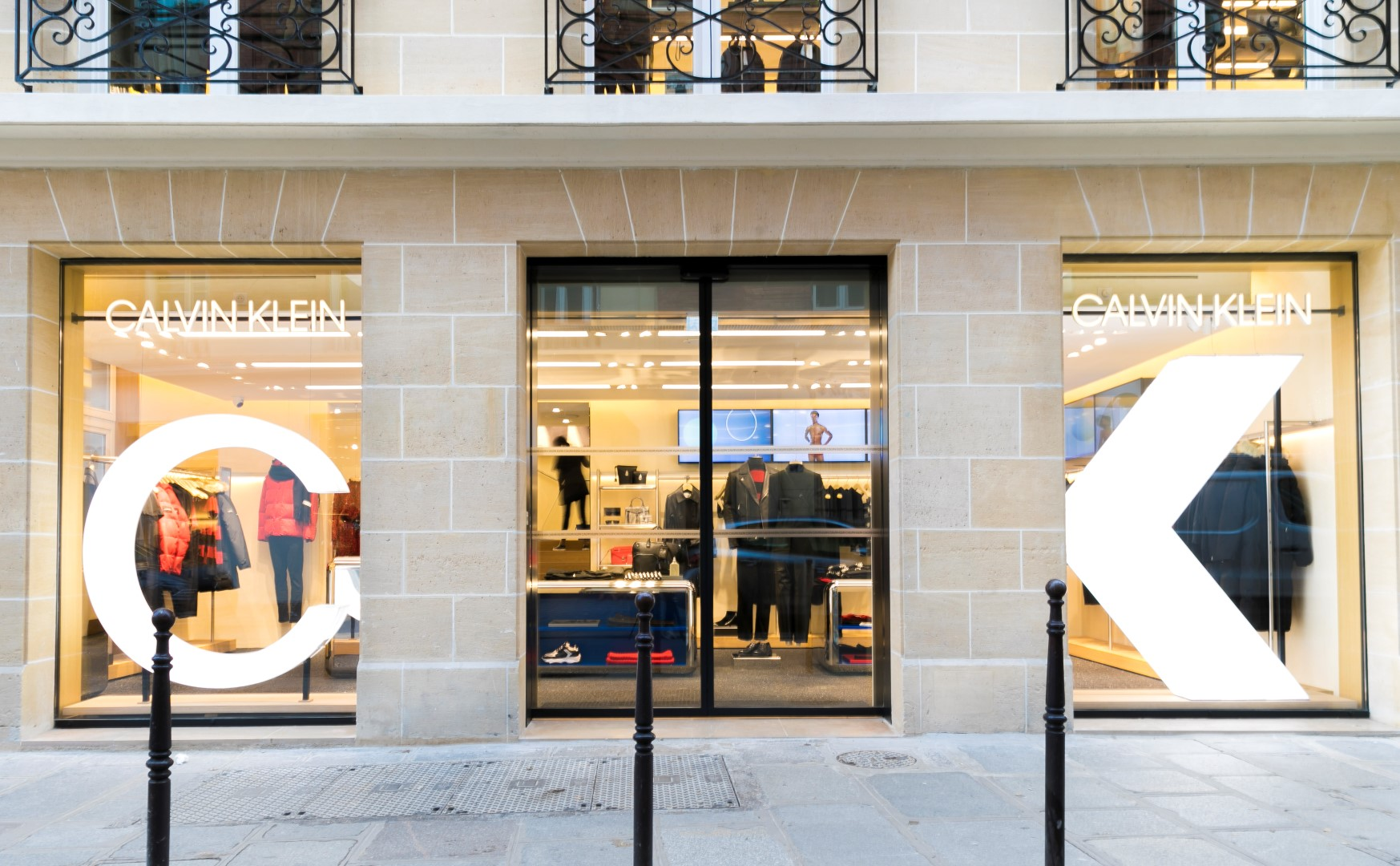 Calvin Klein flagship store Parigi