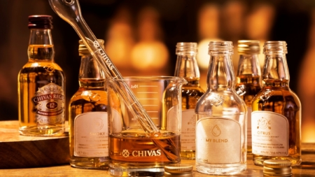 Chivas Regal The Blend: la masterclass per creare il proprio blended whisky