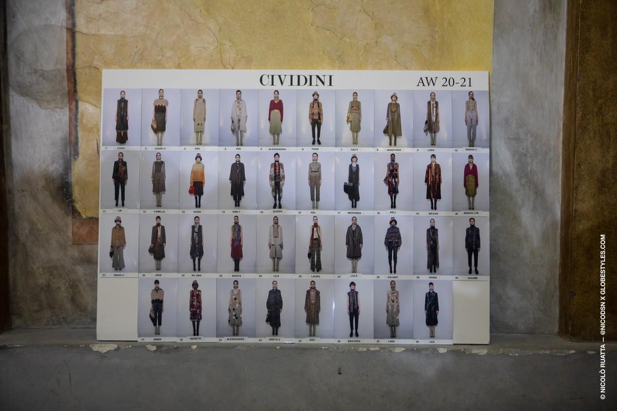 Cividini Donna autunno inverno 2020