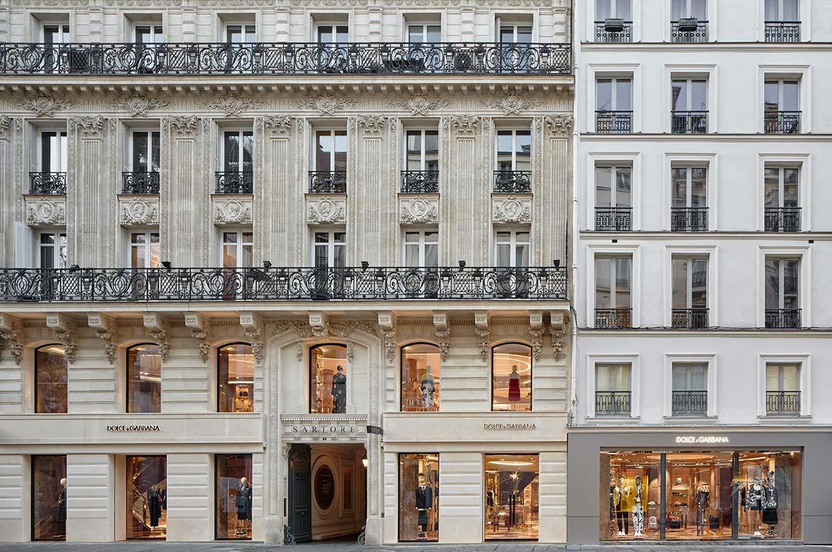 Dolce&Gabbana Parigi Faubourg Saint Honoré