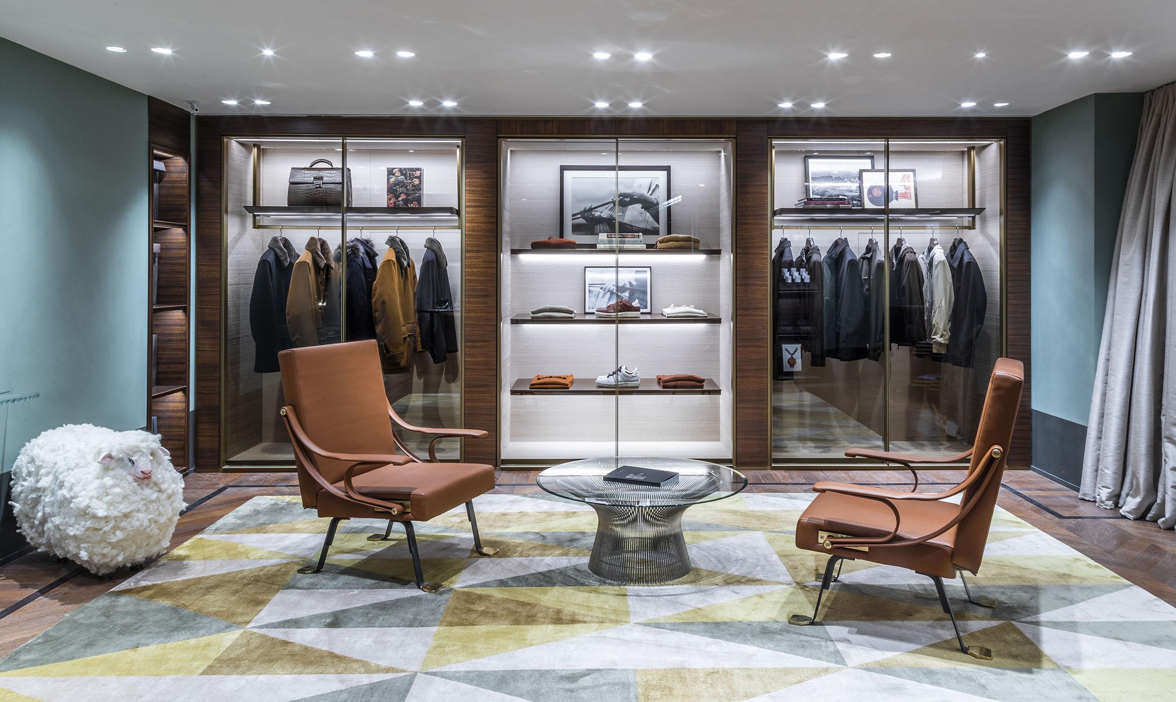 Ermenegildo Zegna flagship store Parigi