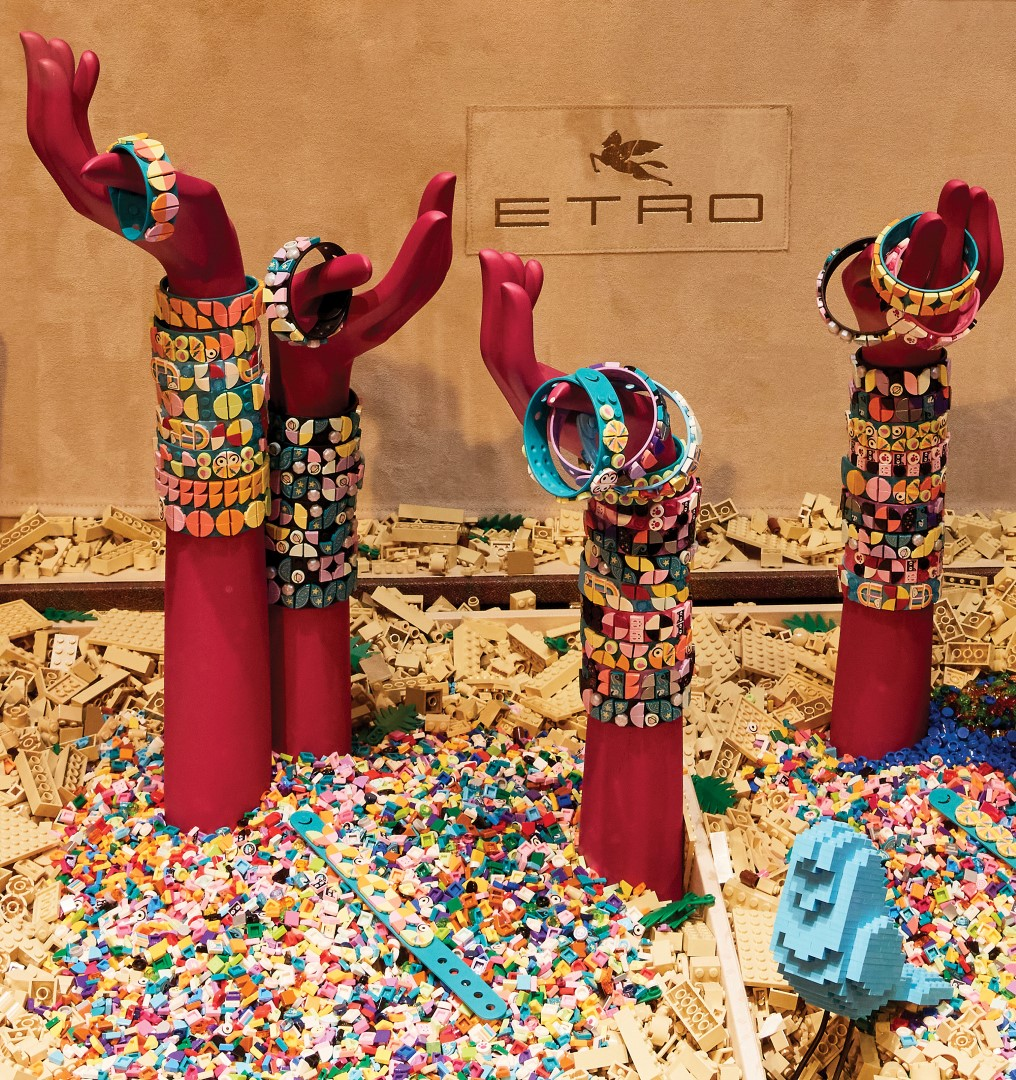 Etro Lego Store Piazza San Babila