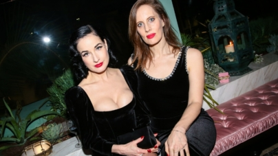 Gucci Osteria Massimo Bottura Beverly Hills: il party con Dita Von Teese, Salma Hayek Pinault, Anjelica Huston e Dakota Johnson
