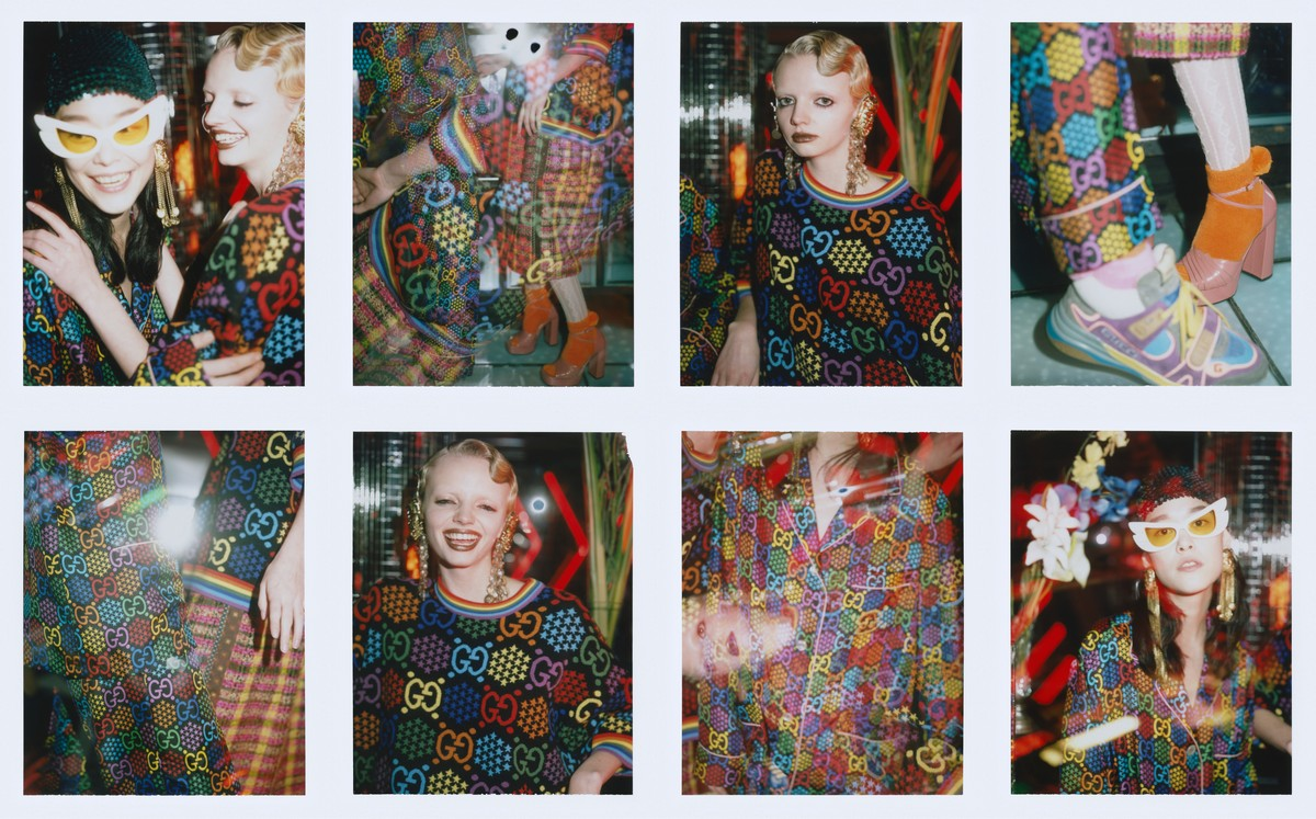 Gucci campagna GG Psychedelic