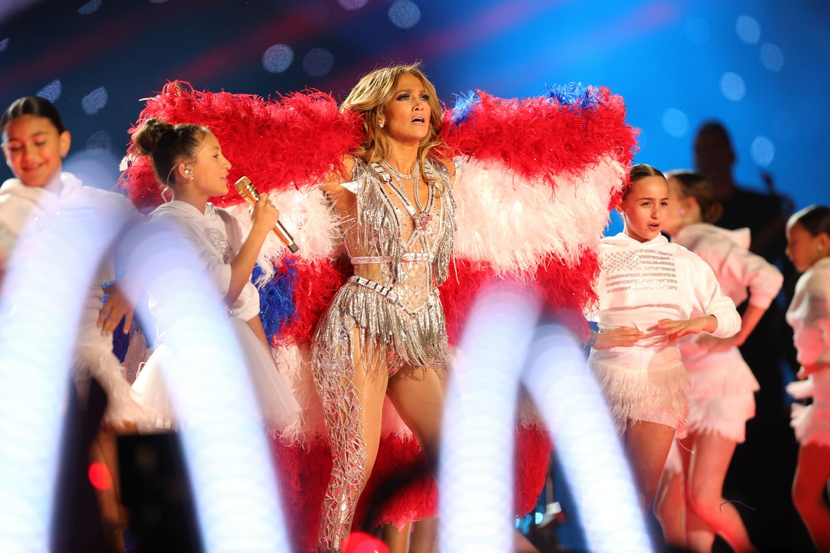 Jennifer Lopez Super Bowl Halftime Show 2020