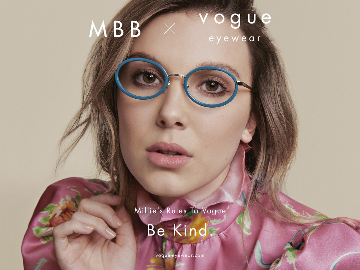 Millie Bobby Brown Vogue Eyewear