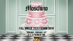 Moschino sfilata donna streaming autunno inverno 2020: la diretta video su Globe Styles