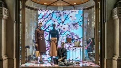 Prada vetrine Blossom 2020: le immagini create dall'artista Thomas Demand