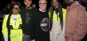 Tommy Hilfiger sfilata primavera 2020: l'evento TommyNow con Lewis Hamilton e Naomi Campbell