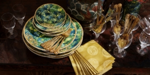 Versace Rosenthal collezione Jungle 2020: la nuova iconica linea per la casa