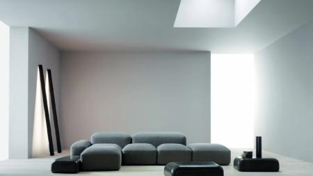 Arredamento casa moderna salotto: il concept living firmato Amura
