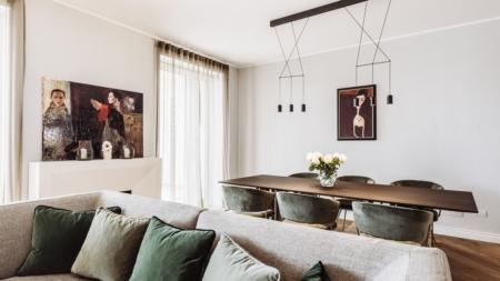 Arredare casa vintage moderno: il progetto di interior curato dallo studio Italia and Partners