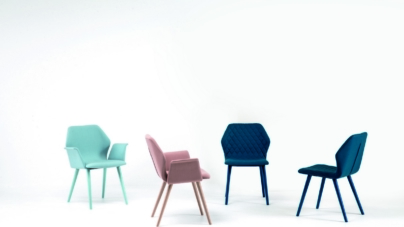 Bross sedie primavera 2020: colori pastello e tessuti floreali