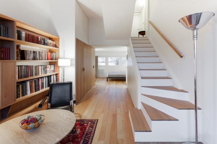 Come arredare mini appartamento: gli arredi Thonet per un mini flat a Mosca