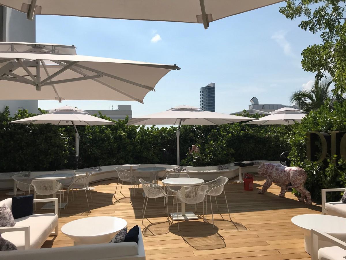 Dior pop-up café Miami