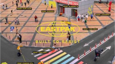 Eastpak campagna Built to Resist: per superare insieme le difficoltà e tornare a sorridere