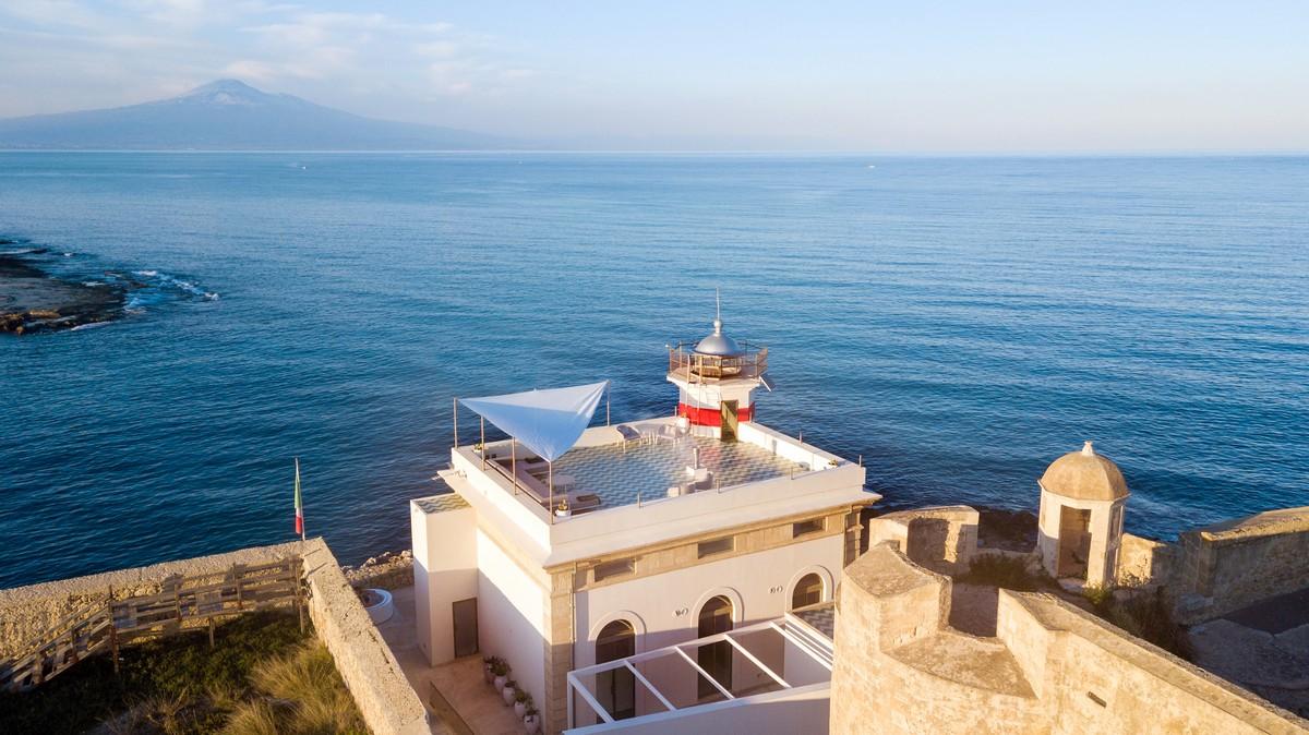 Faro di Brucoli Sicilia