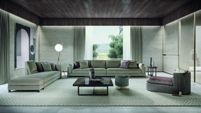 Frigerio divano Davis: il sistema bestseller per creare la propria oasi di relax