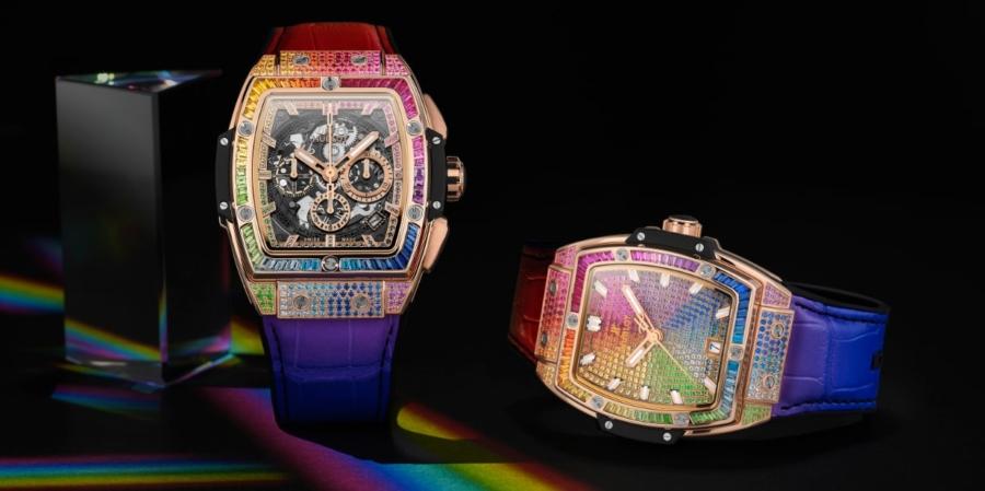 Hublot Spirit of Big Bang Rainbow: la magia dei colori e delle gemme