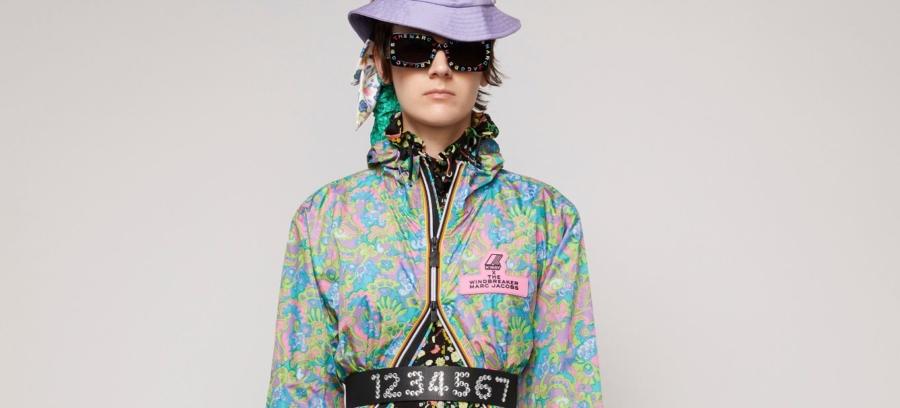 K-Way Marc Jacobs primavera estate 2020: l'iconica giacca Le Vrai Eiffel 3.0 e la tuta Pierrick