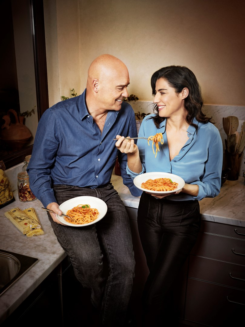 Pasta Garofalo Luca Zingaretti