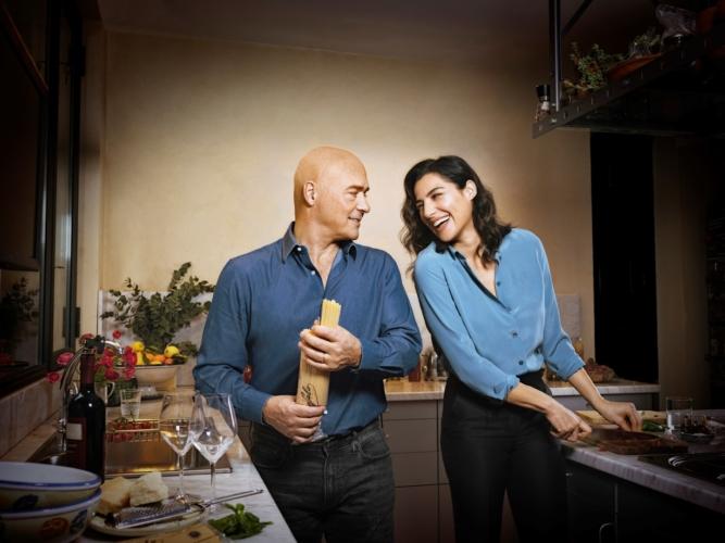 Pasta Garofalo Luca Zingaretti: la nuova campagna insieme a Luisa Ranieri