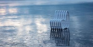 Sedie outdoor design 2020: la seduta Curve Outdoor in HI-MACS