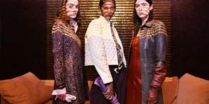 Trussardi Donna autunno inverno 2020: i codici stilistici interpretati da Ilenia Durazzi