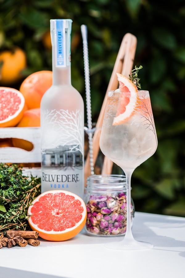 Belvedere Spritz cocktail