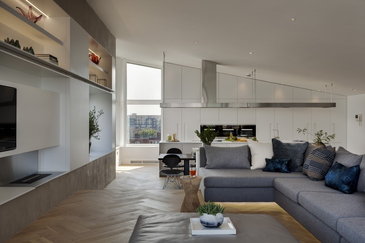 Bermondsey Wall Penthouse Londra