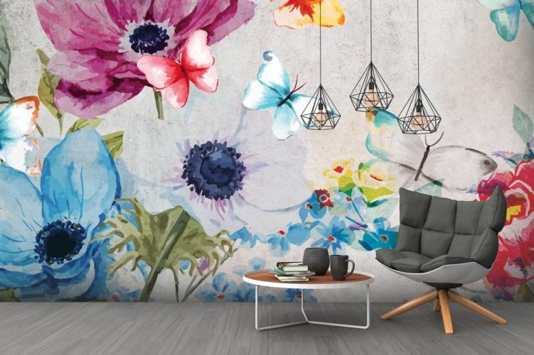 Come decorare una parete vuota: ambienti dal forte impatto scenografico con la carta da parati Instabilelab