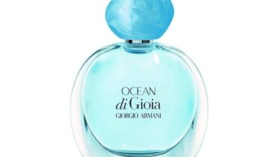 Giorgio Armani Ocean di Gioia: la nuova fragranza floreale cristallina