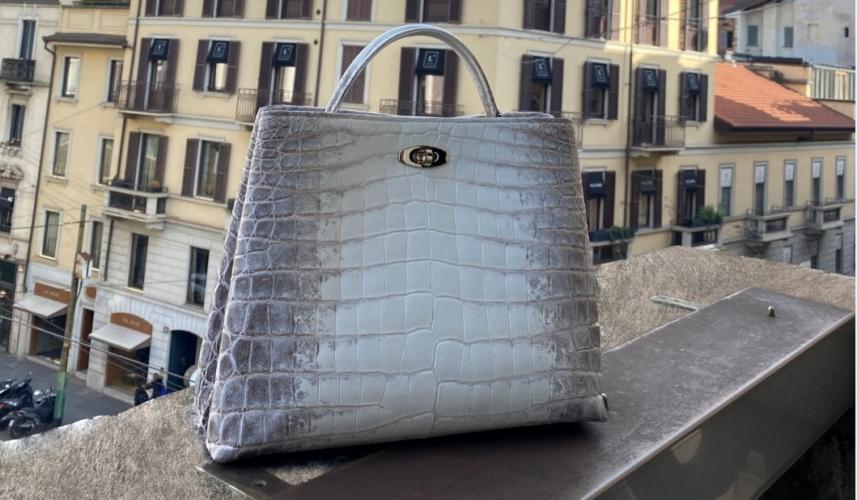 Giòsa Milano borsa Adèle: femminilità e charme in un design senza tempo