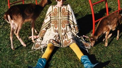 Gucci campagna Pre-Fall 2020: paesaggi naturali e animali fiabeschi