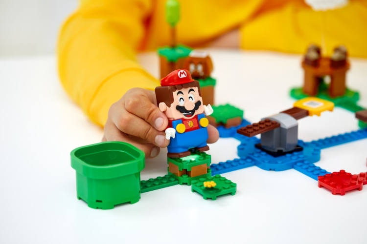 Lego Super Mario set