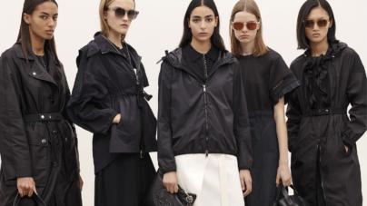 Moncler primavera estate 2020: look minimal chic ed eleganti