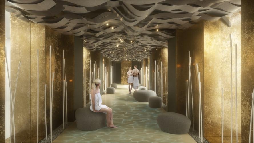 Palazzo Bernasconi Cipriani 2021: le aree wellness della nuova ospitalità di lusso