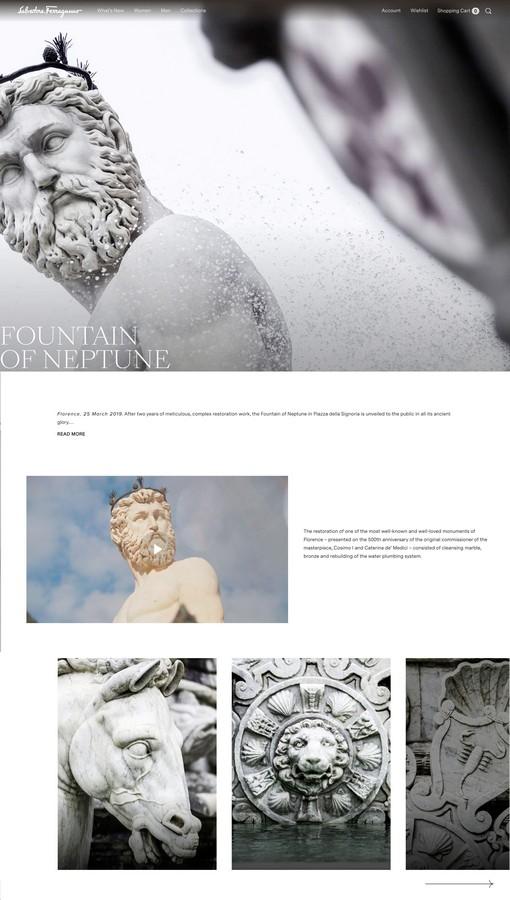 Salvatore Ferragamo sito ufficiale