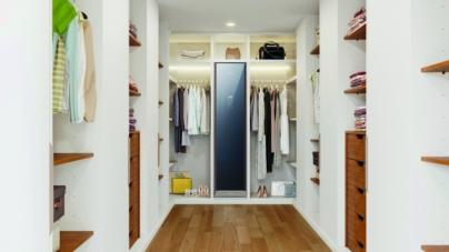 Samsung Airdresser: la cabina armadio che rinfresca ed igienizza i capi
