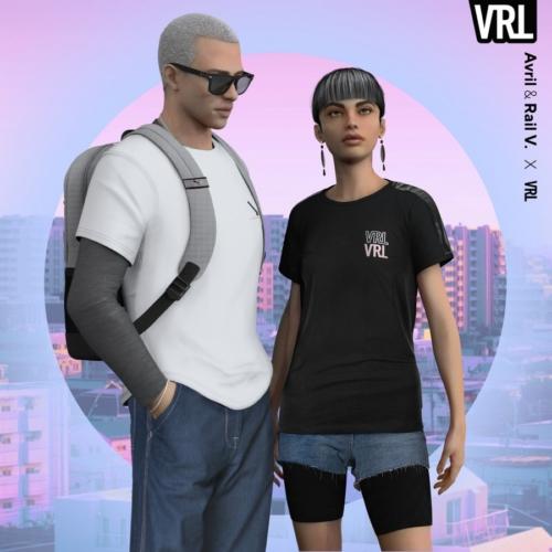 AW LAB VRL primavera estate 2020: gli originali brand ambassador virtuali