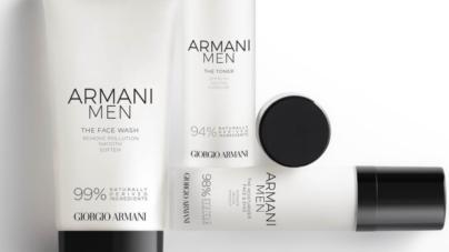Armani Men Skincare 2020: la nuova linea di prodotti per la cura della pelle maschile