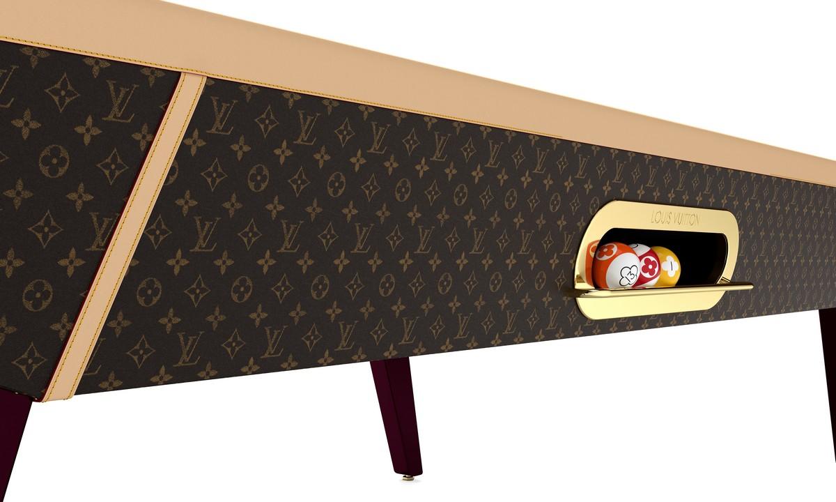 Biliardo e Biliardino Louis Vuitton