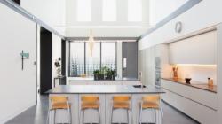 Cucine moderne con isola: il modello Viva di Maistri per una residenza privata a Cincinnati