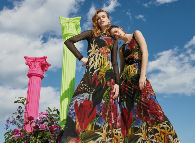 Desigual Lacroix primavera estate 2020: la nuova capsule collection