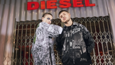 Diesel primavera estate 2020: grafiche, stampe e motivi all-over