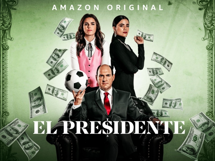 El Presidente serie tv Amazon