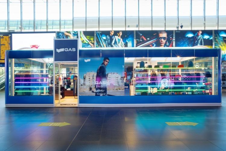 Gas Jeans stazione Roma Termini